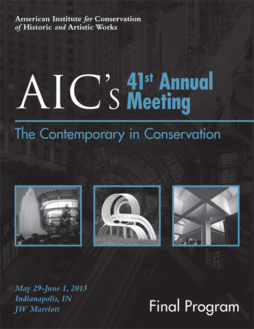 AIC's 41st Annual Meeting- Art on Paper Discussion Group
